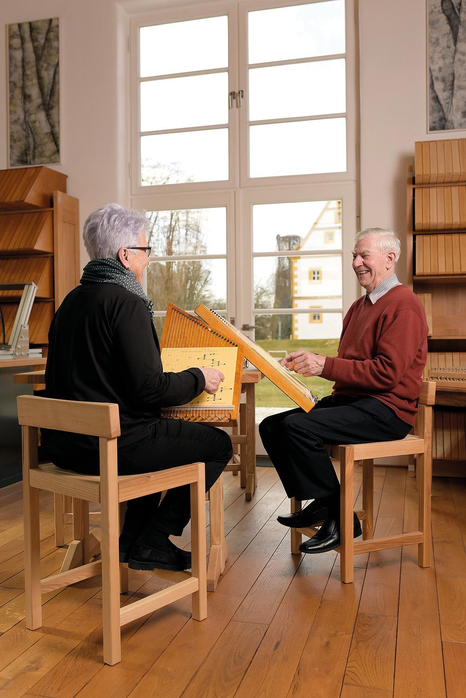 Zauberharfe-Senioren